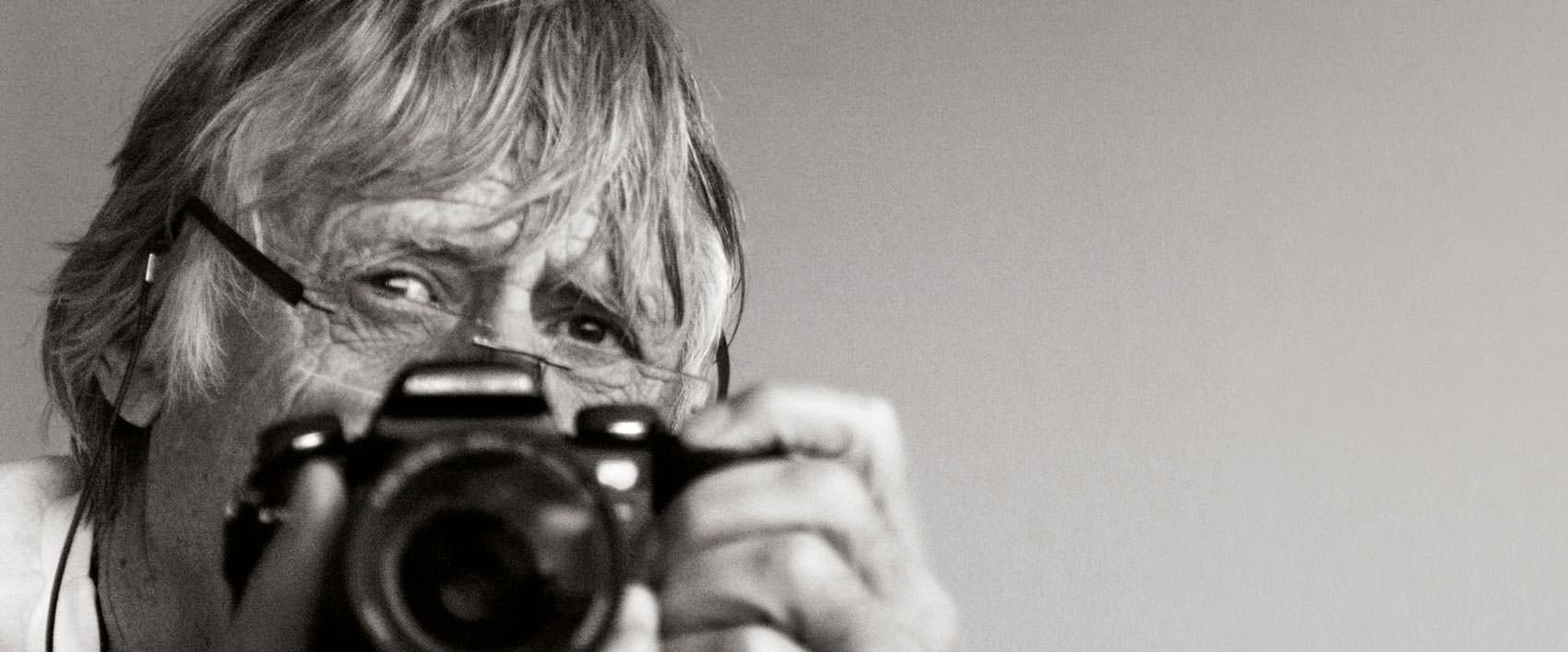 Dieter Blum mit Kamera