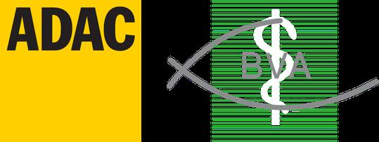 Logo des ADAC und des Berufsverbandes der Augenärzte.
