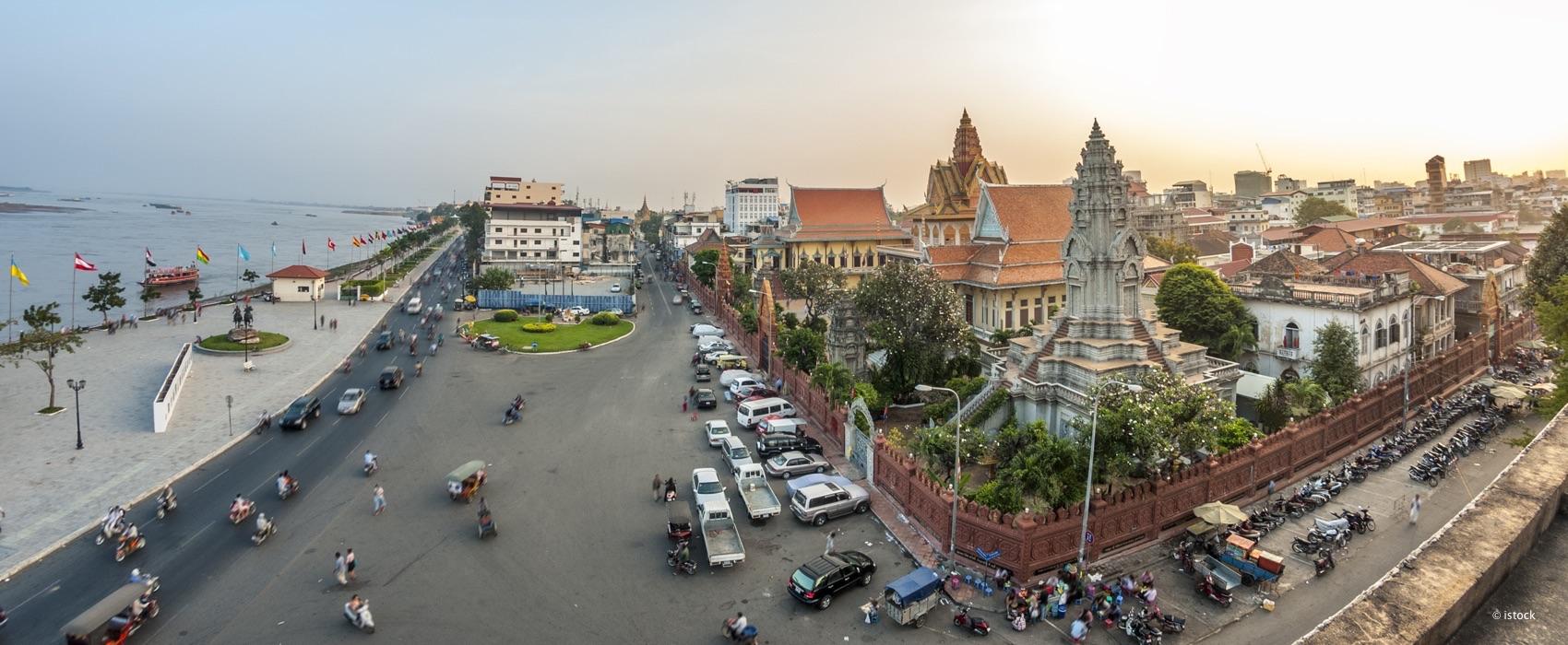 Impression aus Phnom Penh, Kambodscha