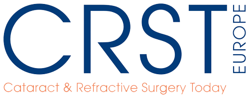 Logo des Fachjournals Cataract & Refractive Surgery Today Europe