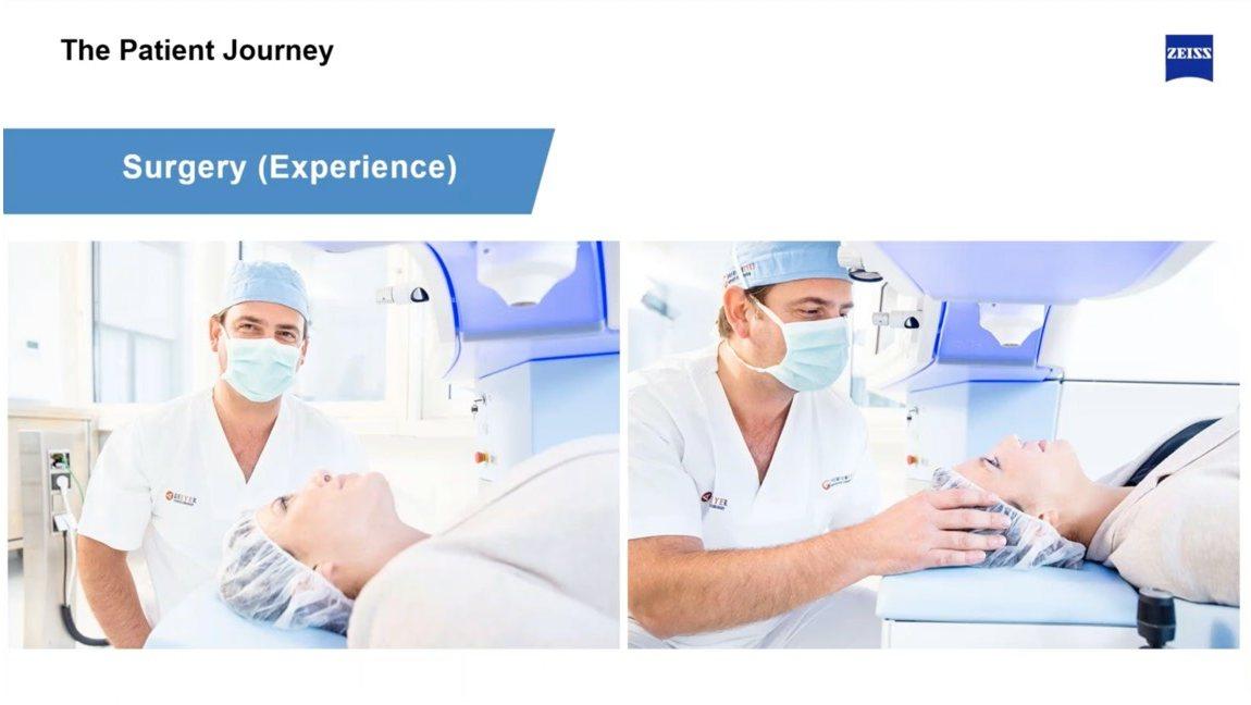 Patientinnen und Patienten begeben sich am liebsten in die Hände erfahrener Operateure.