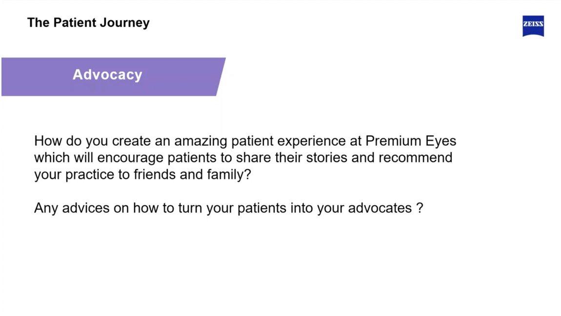 Wie motivieren Sie Ihre Patientinnen zu einer Empfehlung?