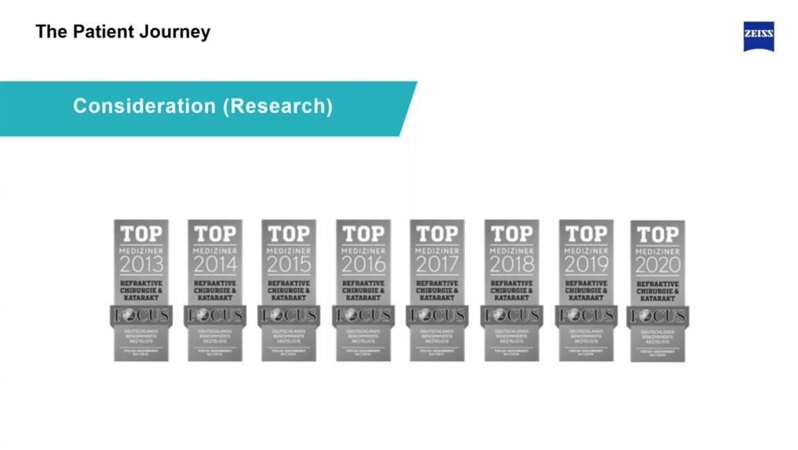 Überzeugend: Seit 2013 wird Dr. Breyer in der Liste der Focus-Top-Mediziner geführt.