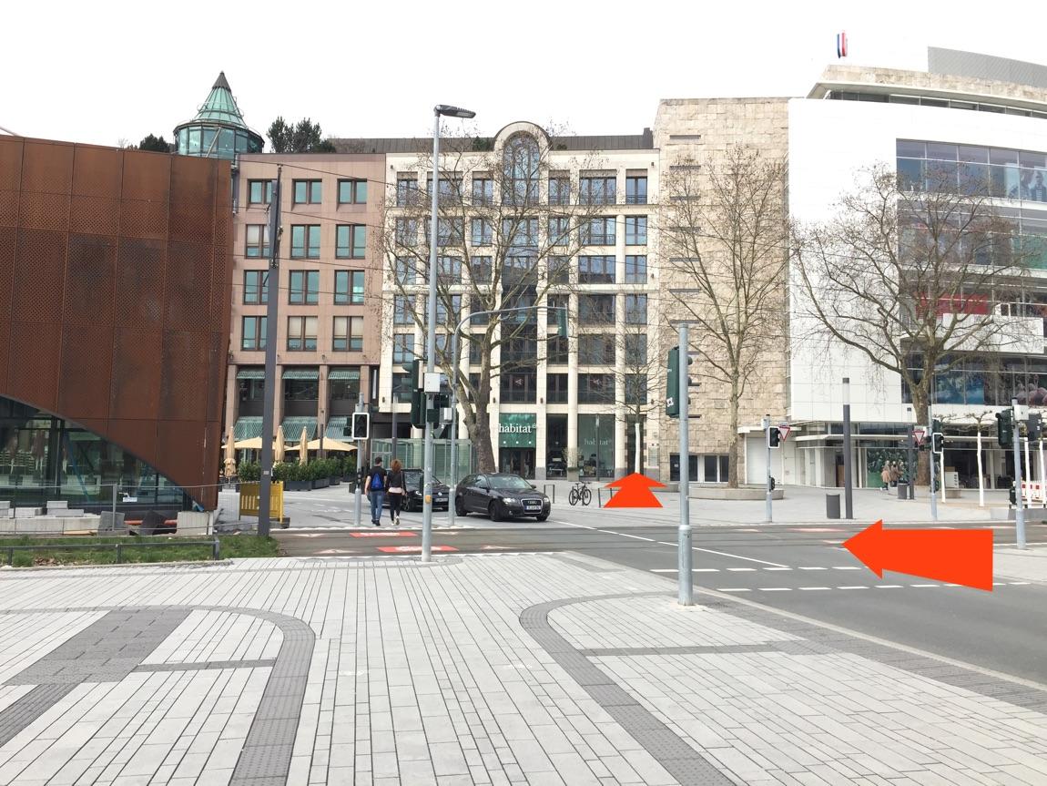 Wegbeschreibung zur Praxis am Martin-Luther-Platz