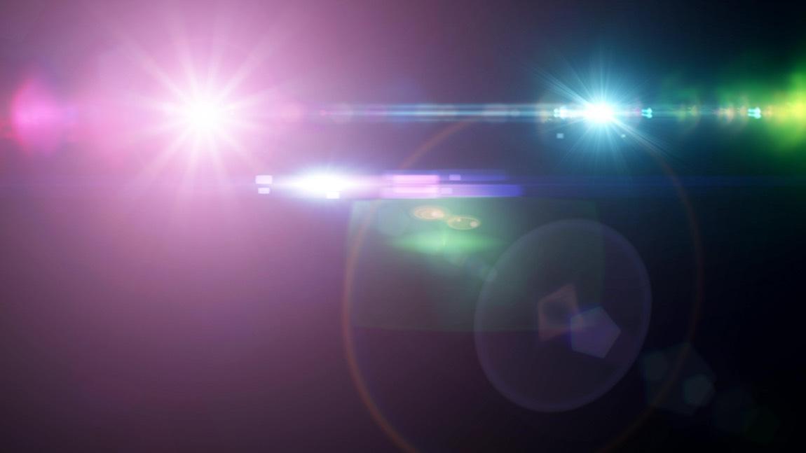 Darstellung von Lichteffekten wie Halo und Glare