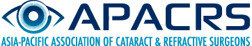Logo: Asia Pacific Association of Cataract & Refractive Surgeons