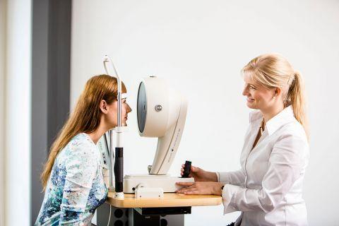 Teaserfoto Die Voruntersuchungen vor einer Augenlaserbehandlung