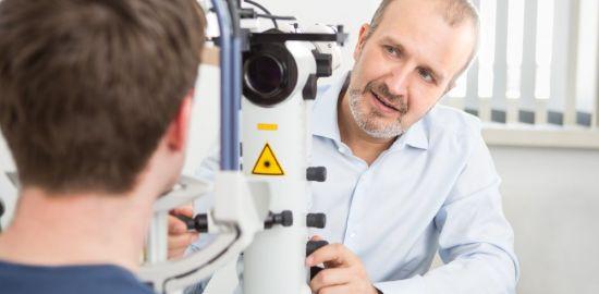 Teaserfoto Lasertherapie bei grünem Star