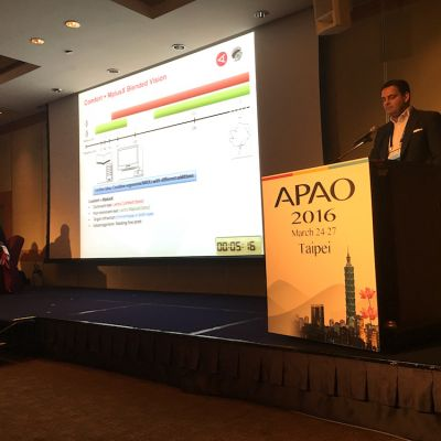 Kongress der Asia-Pacific Academy of Ophthalmology (APAO) in Chinese Taipei