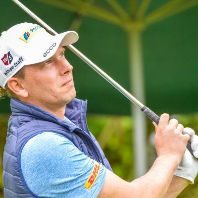 Marcel Siem, Golfprofi, ließ sich von Dr. Breyer lasern.