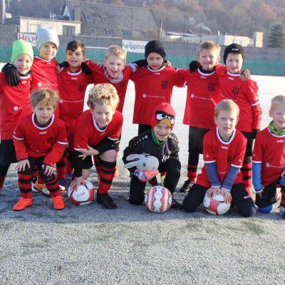 Die Fußball-Bambinis des SC Urdenbach