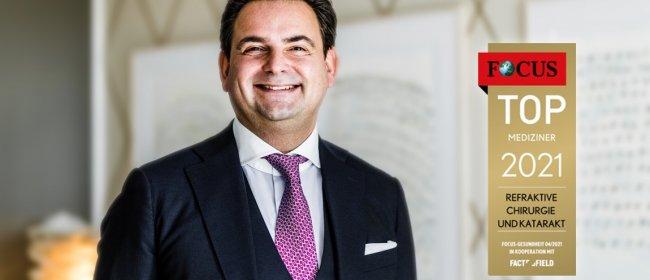 Dr. Breyer erneut Focus-Top-Mediziner für Katarakt und Refraktive Chirurgie