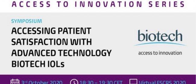 Dr. Breyer präsentiert Erfahrungen mit Biotech-IOL