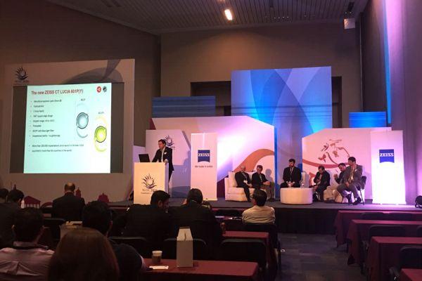 Teaserbild von Dr. Breyer trägt beim Weltkongress der Ophthalmologen in Mexiko vor