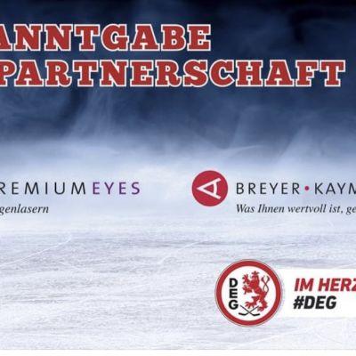 BKK wird Partner und Dr. Breyer Mannschaftsarzt der DEG