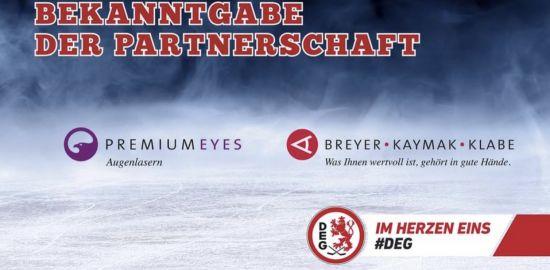 Teaserfoto BKK wird Partner und Dr. Breyer Mannschaftsarzt der DEG