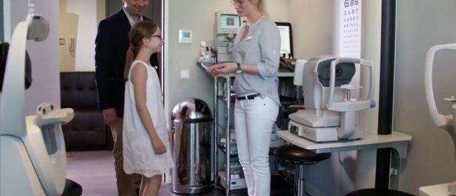 Dr. Kaymak stellt bei ARTE seine Atropintherapie für kurzsichtige Kinder vor