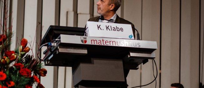 Dr. Klabe trägt in Köln zum Thema Glaukomtherapie vor