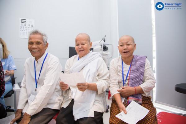 Diese Patienten freuen sich regelrecht auf ihre Operation.