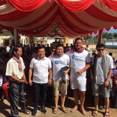 Ende der Hilfsaktion in Kambodscha