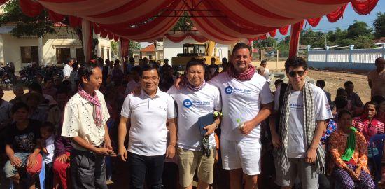 Teaserfoto Ende der Hilfsaktion in Kambodscha