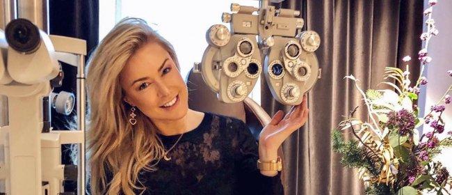 Insta-Story von Nina Ensmann über ReLEx SMILE