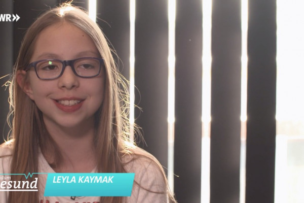 Leyla Kaymak im Interview.