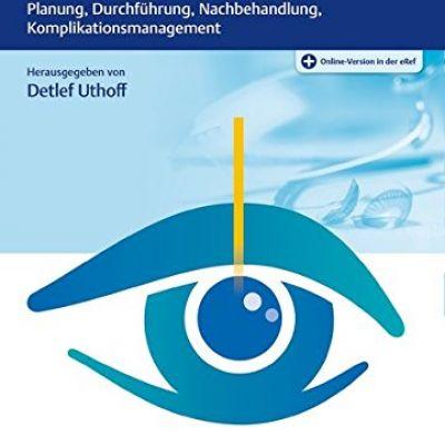 Buchtitel des Fachbuches Praxis der refraktiven Chirurgie