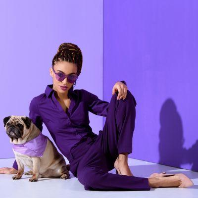 Violette Linsen machen Sinn