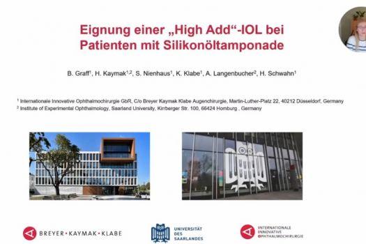 Teaserbild DGII 21 Eignung einer High-Add-IOL bei Patienten mit Silikonoeltamponande