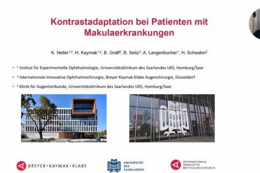 Teaserbild DGII 21 Kontrastadaptation bei Patienten mit Makulaerkrankungen