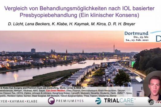 Teaserbild DGII 21 Nachbehandlungsmöglichkeiten nach Presbyopiekorrektur mit IOL