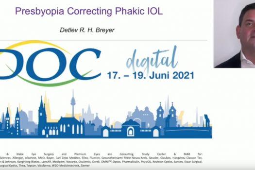 Teaserbild DOC Presbyopia Correcting Phakic IOL