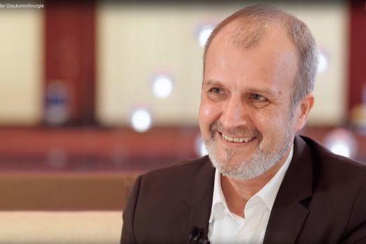 Teaserbild EYEFOX KKlabe Interview zur Glaukomchirurgie