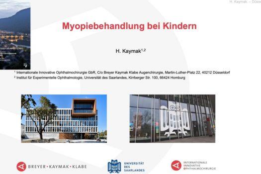 Teaserbild [HK 2020] Myopiebehandlung bei Kindern