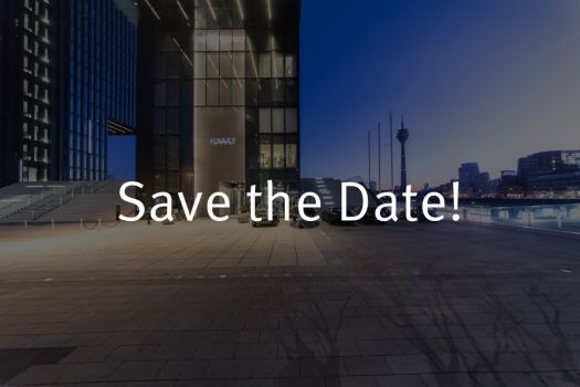 Teaserbild Innovationssymposium 2019 Save the Date!