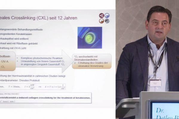 Teaserbild von ISA19 Keratokonus-Therapien: Update – Dr. Detlev Breyer