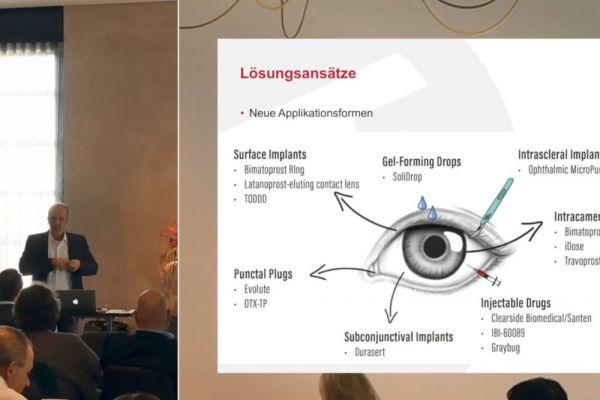 Teaserbild von Medikamentöse Glaukomtherapie