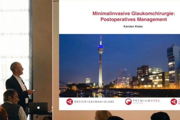 Teaserbild von Minimalinvasive Glaukomchirurgie - Postop-Management