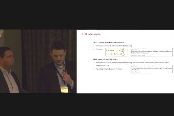 Teaserbild von MVZ18 Innovative und individualisierte Keratokonus-Therapie