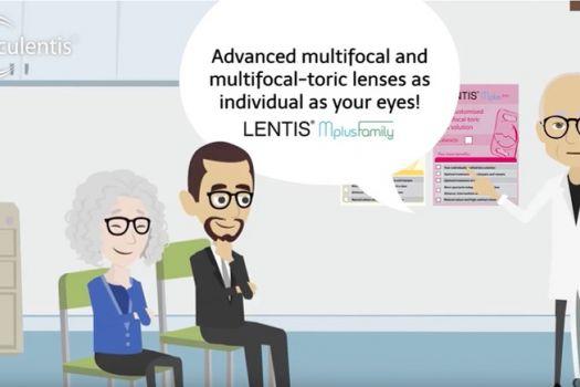 Teaserbild Presbyopia? Astigmatism? LENTIS Mplus Family!