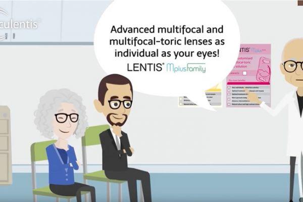 Teaserbild von Presbyopia? Astigmatism? LENTIS Mplus Family!