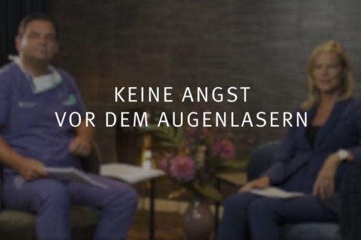Teaserbild Ruge-Interview 1: Keine Angst vor dem Augenlasern