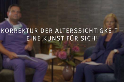 Teaserbild Ruge Interview 10: Augenoperation statt Lesebrille bei Alterssichtigkeit