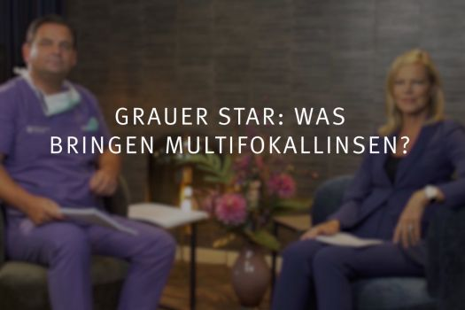 Teaserbild Ruge Interview 12: Grauer Star und Graue-Star-OP: Was bringen Multifokallinsen?