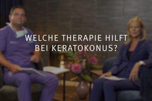Teaserbild Ruge Interview 13: Welche Therapie hilft bei Keratokonus?