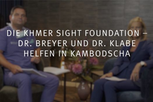 Teaserbild Ruge Interview 17: Die Khmer Sight Foundation –  Dr. Breyer und Dr. Klabe helfen in Kambodscha