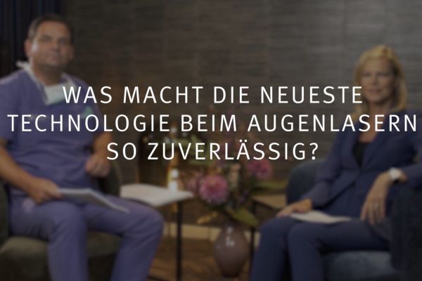 Teaserbild von Ruge-Interview 2: Was macht das SMILE-Augenlasern so zuverlässig?