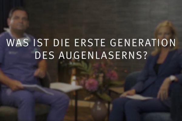 Teaserbild von Ruge Interview 3: die PRK, die erste Generation des Augenlaserns