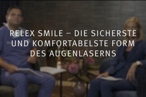 Teaserbild von Ruge Interview 5 SMILE Augenlasern: sicher und komfortabel